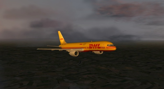 X-Plane 10 Boeing 757-200 do XP9 Header-b757dhl