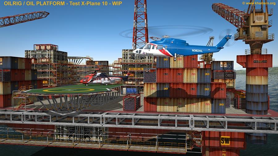 X-Plane Beta 10.10 Beta 2 atualize já o seu. Oilplatform_ingame_06